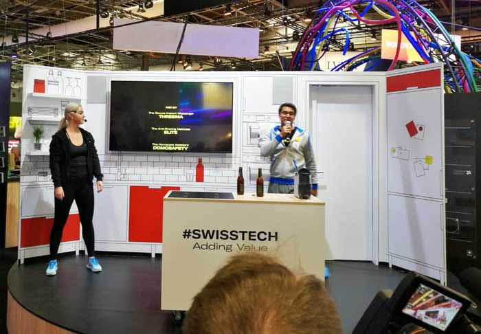 le Pavillon Suisse à VivaTech - Swisstech