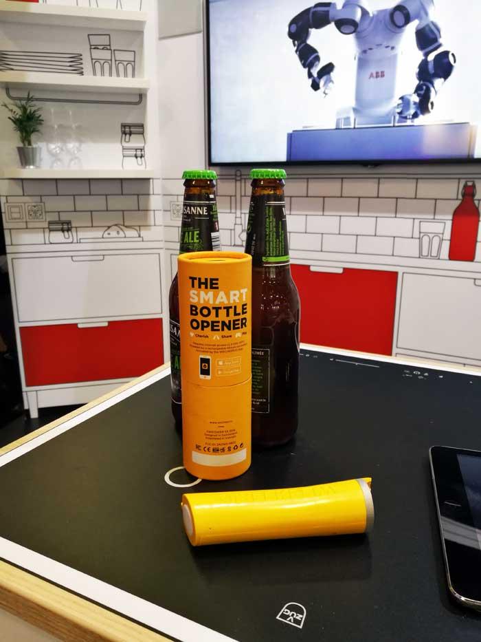 Wecheer - décapsuleur connecté - bière
