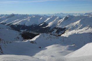 Davos from Pischahorn