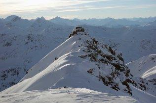 Small Peak above Pischa Ski Area