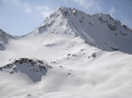 Flüela Weisshorn (descent from top)