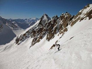Descent from Gemsstock