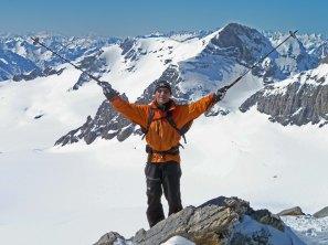 Me on ridge to Clariden