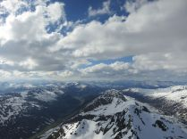 View towards Davos (left)