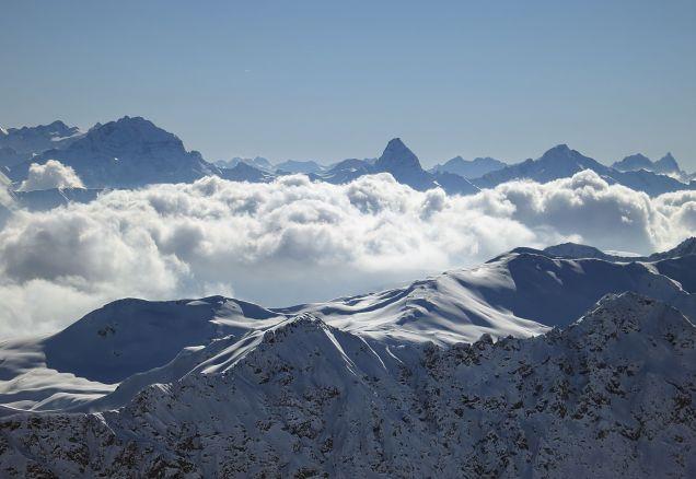 Tinzenhorn - The Matterhorn of Davos
