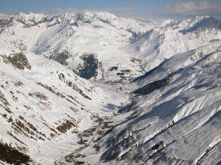 View back to Andermatt