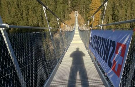 Holzgau 200m lang, auch nach Sonnenuntergang noch ein Erlebnis.