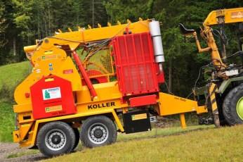 Anhänger Kippmast 16 ton mit Triebachse funkgesteuert