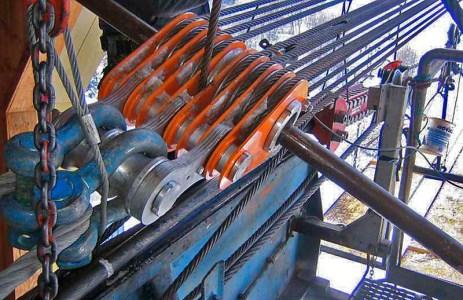 SWISSROPE LF9-250 90 ton Flaschenzug