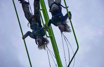 SkyLooping 13 m Flug