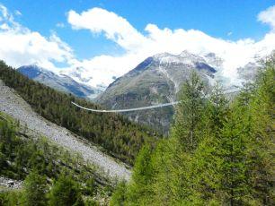 Hängebrücke Randa 494 m