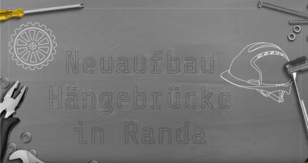 Charles Kuonen Hängebrücke am Europaweg / Randa Zermatt CH