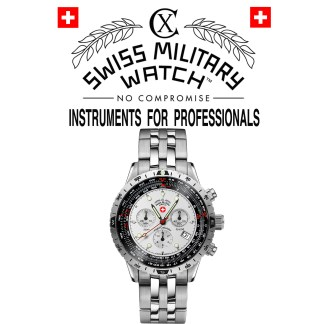 CX Swiss Military Watch 'Instruments for Professionals'