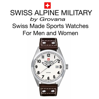 Swiss Alpine Military Watch for Men and Women