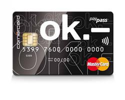 プリペイド式のクレジットカード