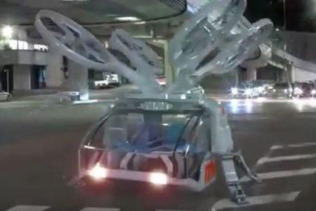 未来のドローン型救急ヘリ、米企業が考えたコンセプト・デザインがユニーク