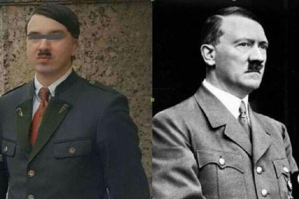オーストリアでヒトラーを真似た男、「ハラルト・ヒトラー」が逮捕される
