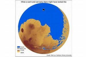 昔の火星は地球と同じだった?大量の水で覆われていた可能性あり:米研究