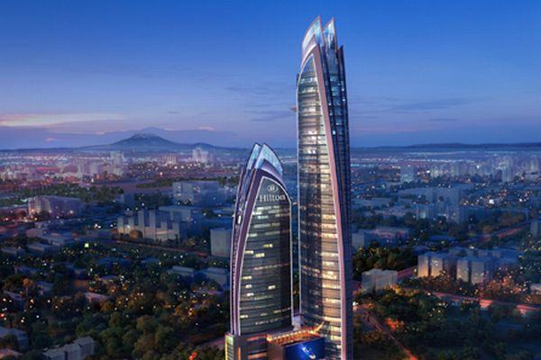アフリカ史上最も高い近代的な高層ビルが、ケニアで建設中