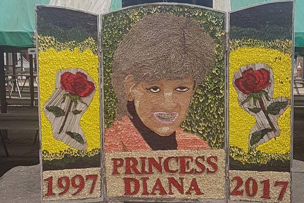 「ひどすぎる…」没後20年を追悼し作られた、ダイアナ元妃の肖像に対し不満が続出