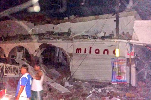 マグニチュード8.1のメキシコ大地震、激しく揺れる建物内部の動画が恐ろしい