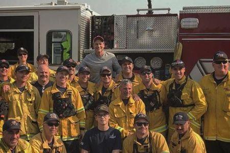 【カリフォルニア山火事】消防士のためにハリウッド俳優が自宅を開放、料理を振舞う