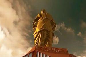 インドで建設中の巨大すぎる黄金色の像、高さ182mで完成すれば世界一