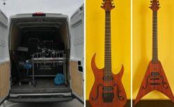イタリアのメタルバンド、楽器が盗まれたとしてツアー中止の事態に