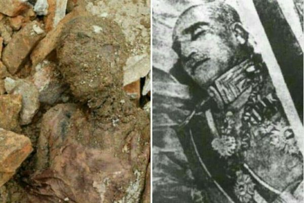 イランの前国王の遺体か?建設現...