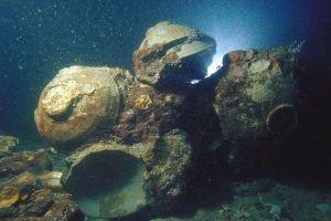 謎の沈没船、陶器に記された中国製を示す文字から12世紀のものと判明