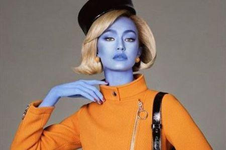 伊ブランドが色を塗ったモデルを起用、「差別の利用」だとして批判を浴びる