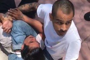 プロの格闘家の家に侵入した泥棒、三角締めをきめられその後、逮捕される