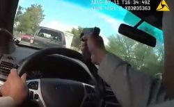 米の街中で警察が殺人犯を追跡、壮絶な銃撃戦をボディカムが捉えていた