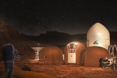 """NASAが主催する""""火星の住居コンテスト""""、上位5チームのデザインが選抜される"""