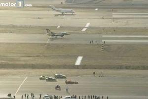 トルコでF1カーやバイク、ジェット戦闘機がレースに参戦、はたして勝者は?