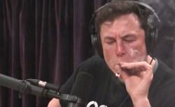 テスラ、幹部退任とマスク氏の大麻吸引で株価下落の憂き目に