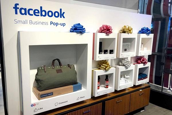 """""""いいね""""ボタンまで?Facebookが米国の百貨店内に実店舗を設置し話題に"""