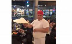 頭や肩の上でクルクル!ピザの生地を自由に回転させるシェフがスゴイ