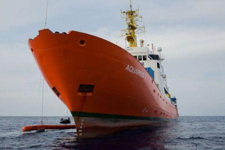 地中海で難民を救助してきた「アクエリアス号」が任務の終了を発表