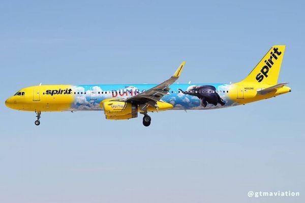 映画の公開を記念し、米航空会社の旅客機に「ダンボ」の機体が登場!