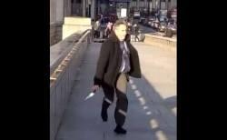 ロンドン橋でテロ事件、多くの市民が犯人を取り押さえ、ナイフを奪う【動画】