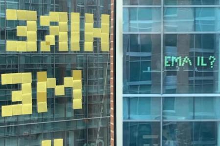 米国の大学生、窓に貼った付箋紙のメッセージでフォーチュン500企業のインターンシップを獲得