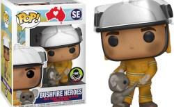 オーストラリア森林火災のチャリティで販売中「コアラを抱く消防士」の人形が可愛い
