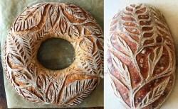 謎の女性が作る芸術的なパン、食べるのがもったいない