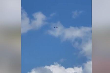 パラシュート事故、タンデムジャンプで落下する人々を捉えた動画がショッキング