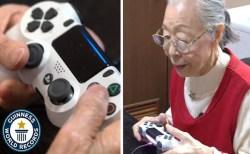 90才の日本人おばあちゃんゲーマーが、人気ユーチューバーとしてギネス世界記録に