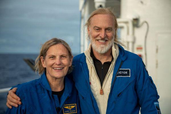 NASAの元宇宙飛行士が、女性で初めてマリアナ海溝最深部に到達