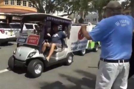 トランプ大統領が「ホワイトパワー」と叫ぶ支持者の動画をシェア、非難殺到で削除