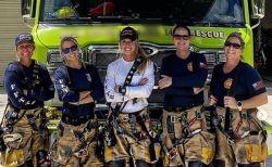 隊員は全員女性!米フロリダ州の消防署が話題に