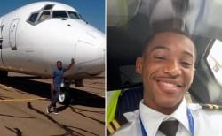 少年時代の夢をかなえ、コンゴで最年少パイロットになった青年